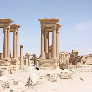 Сирия: Пальмира за год до войны