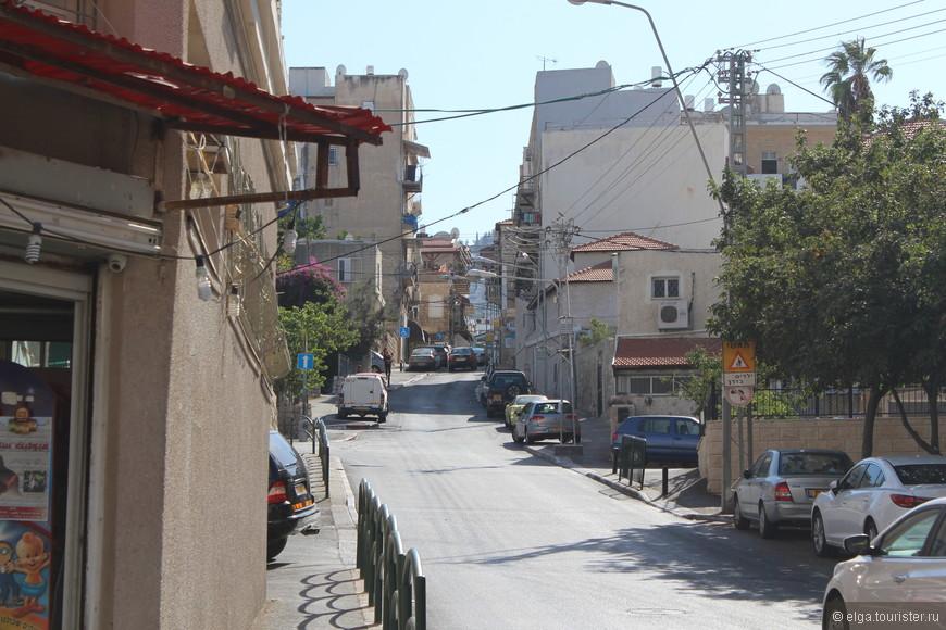 Хайфа - город на и под горой.