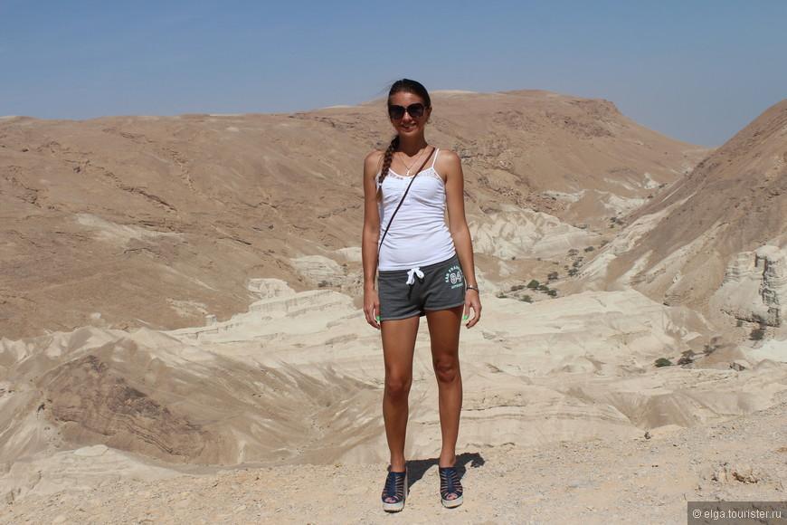 А это уже по пути к Мертвому морю.  Пустыня...влюбилась я в нее. Непередаваемое ощущение. А тишина.....такая тишина, что ушам больно!