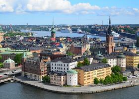 Скандинавские сказки. Стокгольм. Часть 1