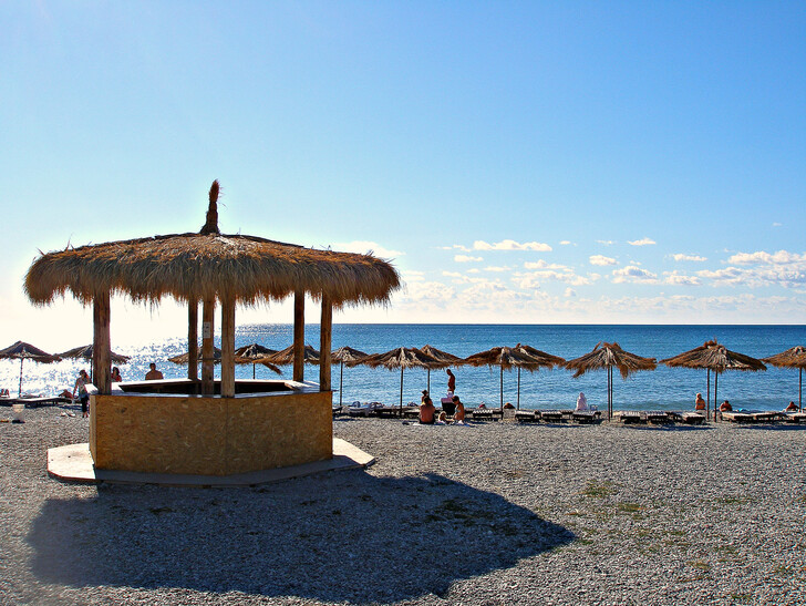 Центральный пляж в Коктебеле © <a href=/go/?url=https://vladkonst.tourister.ru/ target=_blank class=ext_link>vladkonst</a>