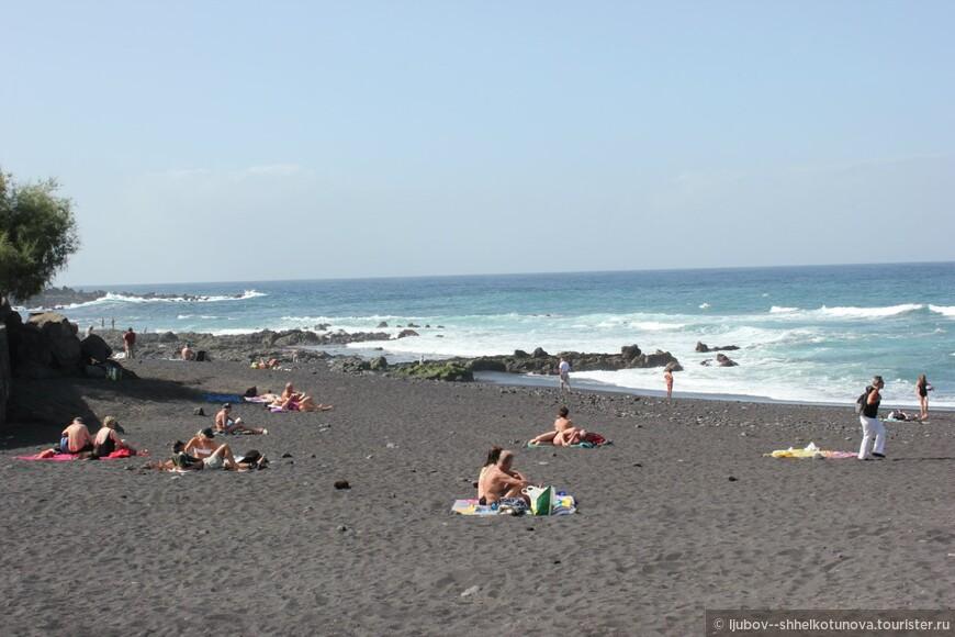 Чёрные пляжи. г. Пуэрто де ла Крус (Puerto de la Cruz)
