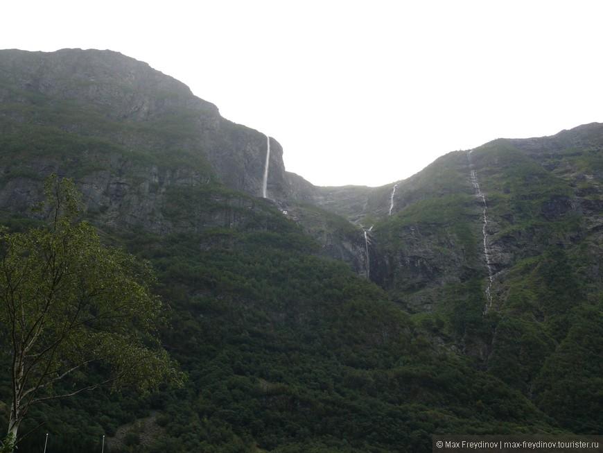 водопады талой воды
