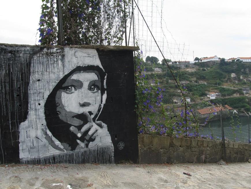 Граффити города Порту.