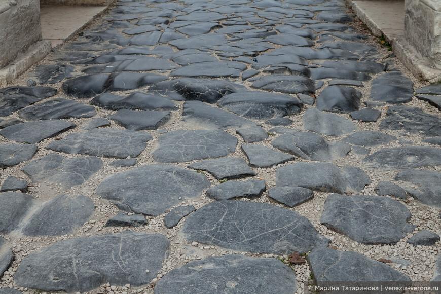 Античная дорога в Вероне.