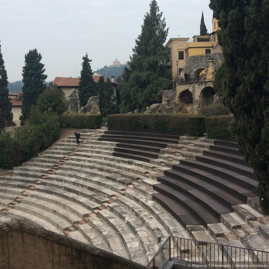 Верона . Театр Романо 1 век н.э.