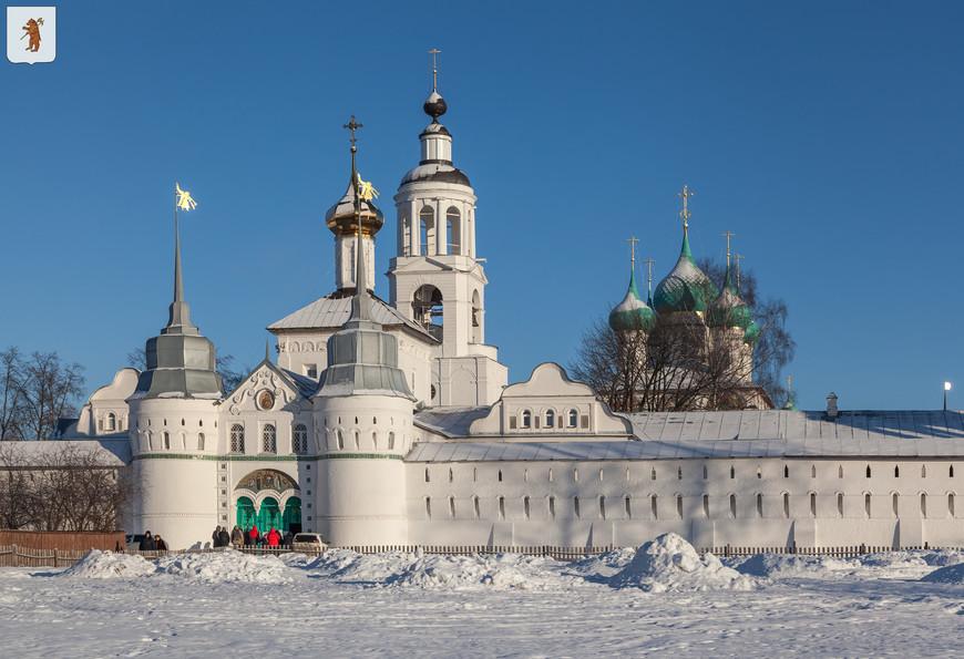 Свято-Введенский Толгский монастырь. Введенский собор, Никольский храм и колокольня