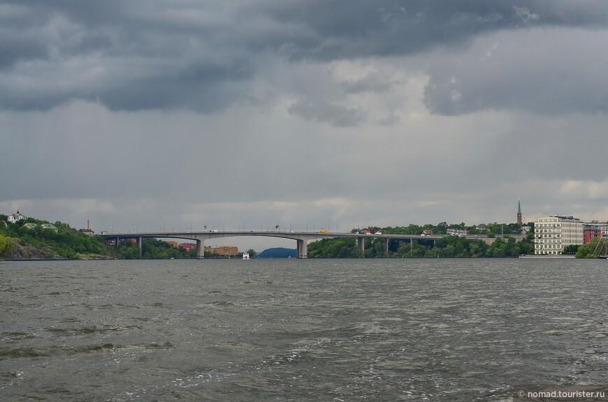 Вид на мост Вастерброн
