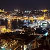 Вечерний Стамбул — через Европу — в Азию!