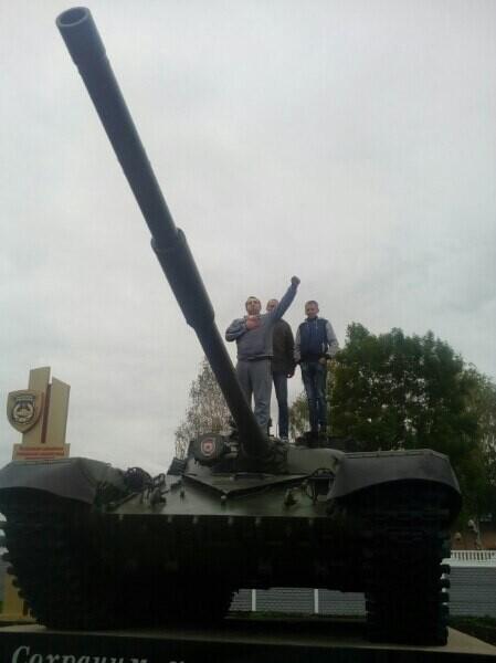Танк в Заслоново