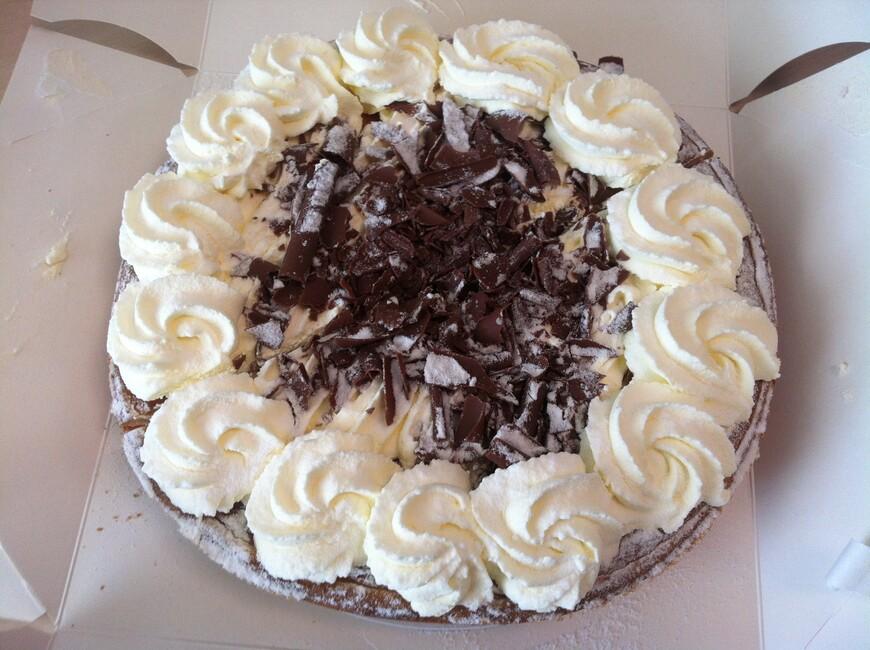 а это номер один!!! Пирог с рисовым пудингом.