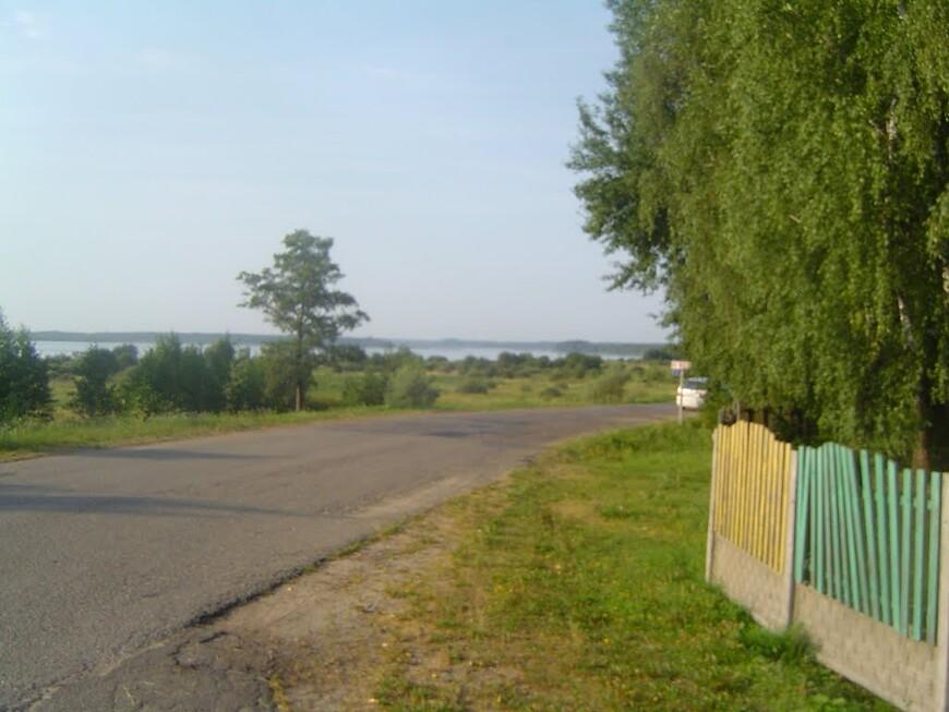 Соединение дороги H8671 «Яновщина - Белые Борки - Малый Каменец» с дорогой H3802 «Холопеничи - Яновщина - Черея»