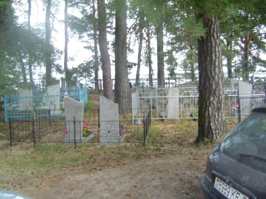 Кладбище и озеро Селява