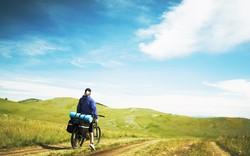Американская пенсионерка в одиночку путешествует на велосипеде