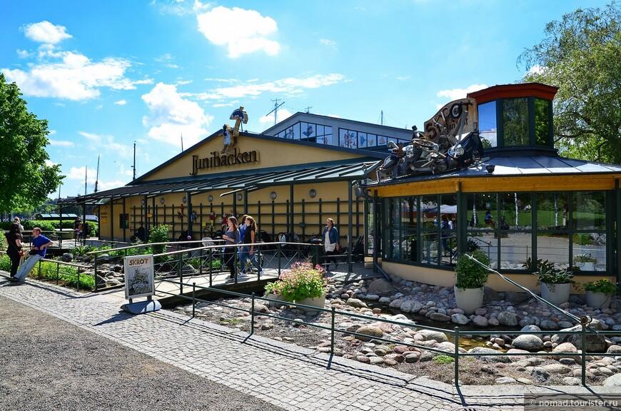 Юргорден. Юнибаккен - музей Астрид Линдгрен