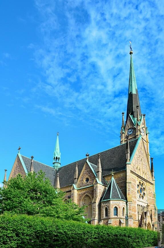 Эстермальм, Церковь Оскара Фредрика