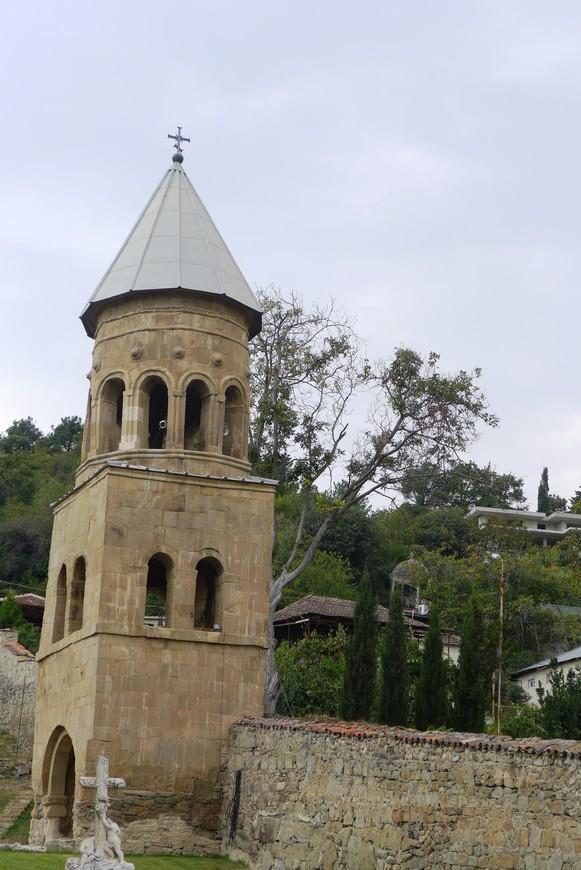 Сохранившаяся колокольня монастыря