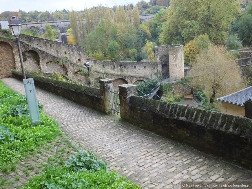 «Путь Вобана» - маршрут по исторической части Люксембурга, по местам, имевшим стратегическое значение в военные годы прошлых столетий.