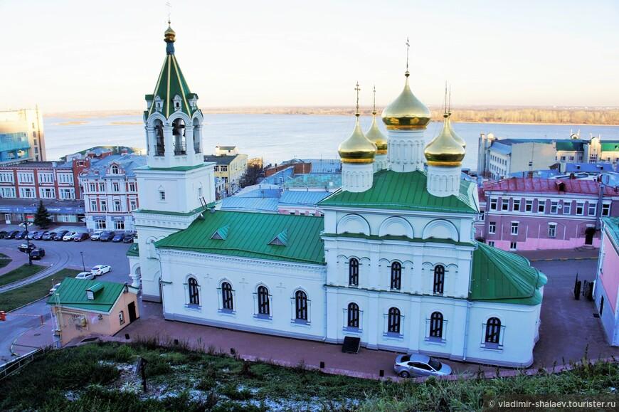 Церковь Св. Иоанна Предтечи – одна из самых древних в Нижнем Новгороде.