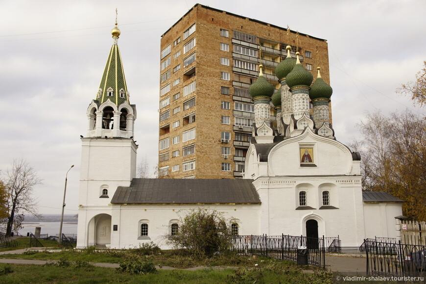 Церковь Успения Пресвятой Богородицы на Ильинской горе (1672 г).