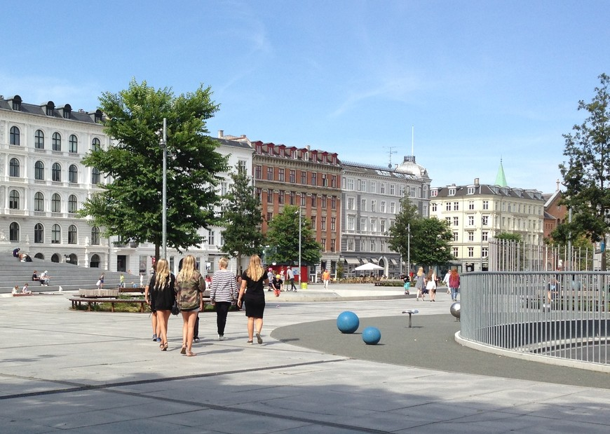 Еще одна важная достопримечательность Копенгагена - местные жители. Особенно их прекрасная половина. Белокурые, длинноволосые, с правильными чертами лица и светлыми глазами.