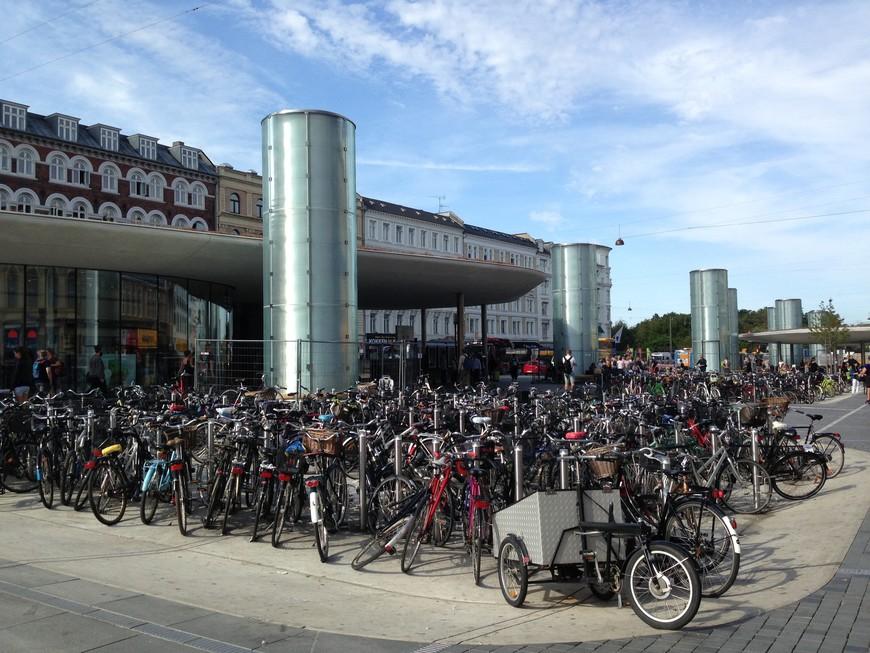 Когда велосипедов в городе больше, чем автомобилей.