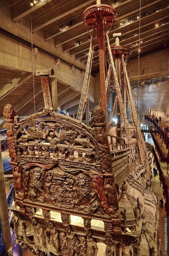 В 1990 году для корабля был построен музей, где его можно осмотреть во всех подробностях, вокруг корабля находится три уровня смотровых площадок, так что его видно от киля до палубы.