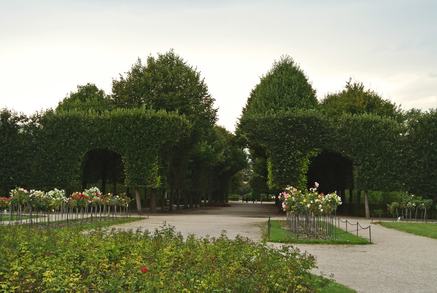 Парк Шёнбрунна.