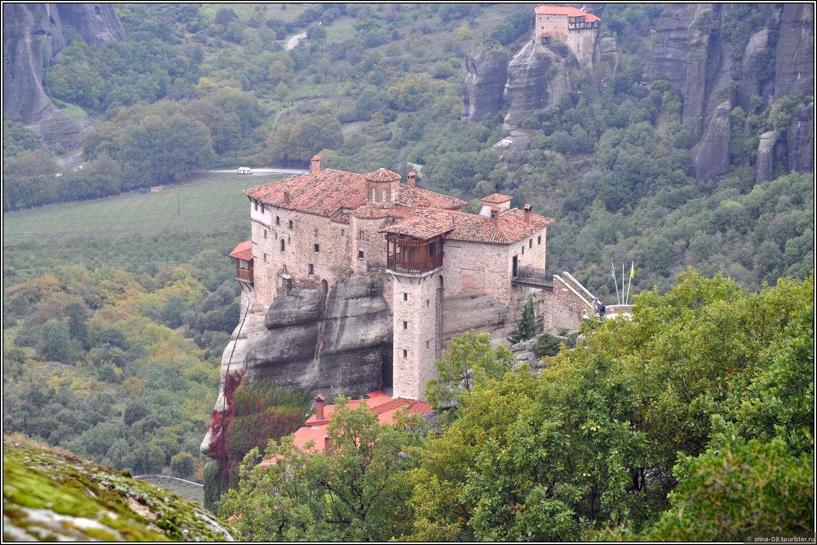 Монастыри Метеоры Греция 28 фото
