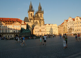 Прага и замки Южно-чешского края