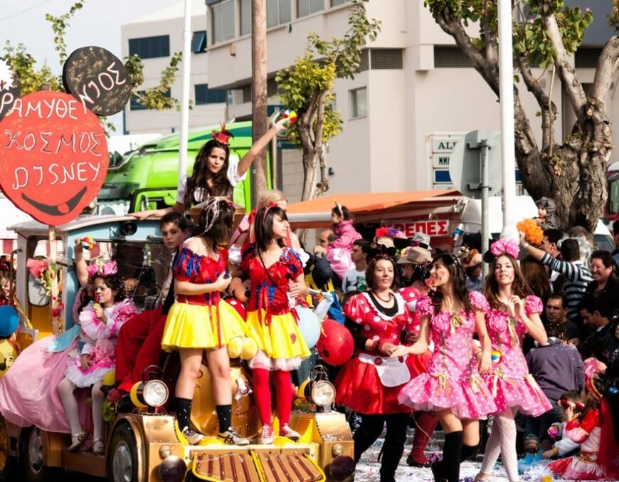 Большой Кипрский Карнавал. Традиции и история.