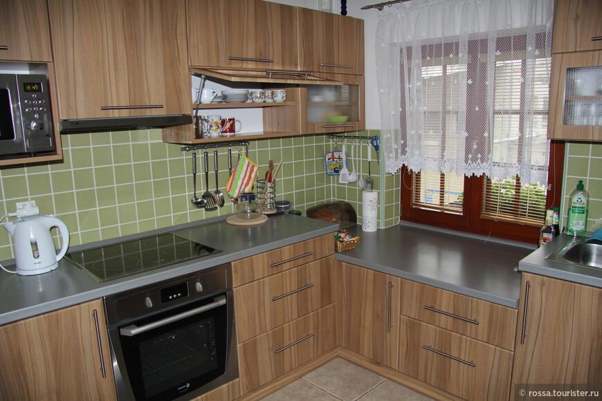 Кухня в пансионе виноделов Благушку