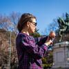 встречаемся на площади Бра под конной статуей