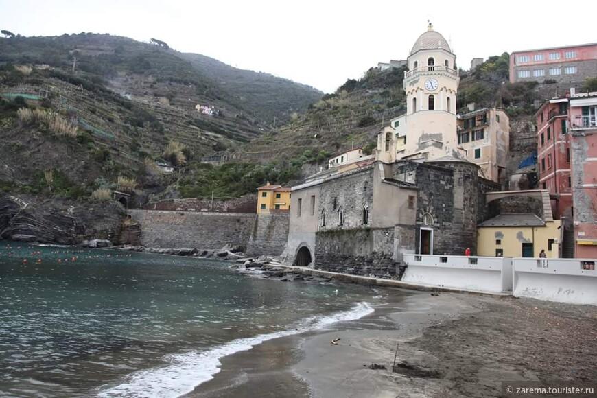 Вернацца - Пять Земель ... с видом на церковь С.Маргарита