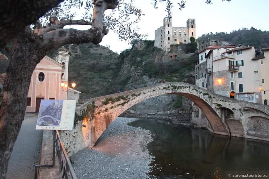 Старый замок и римский мост ... любимое местечко для созерцания и произведения 5 картин великого художника Клода Моне.