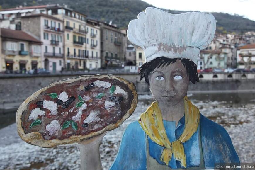 Ну , как в Италии не скушать традиционную и всеми любимую пиццу ...