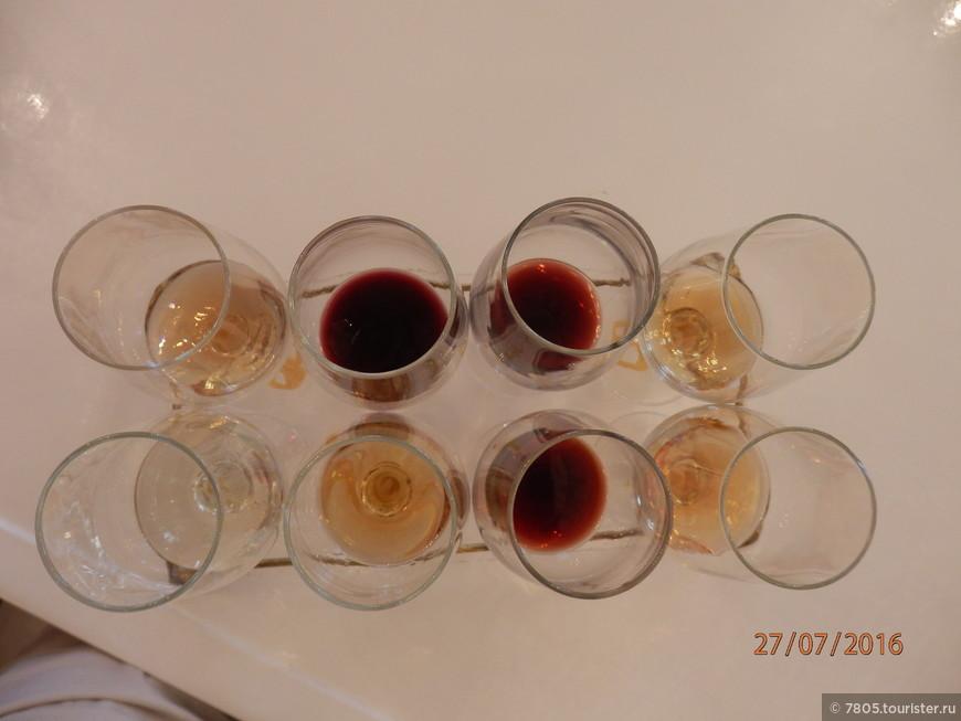 8х50 мл дегустационного вина