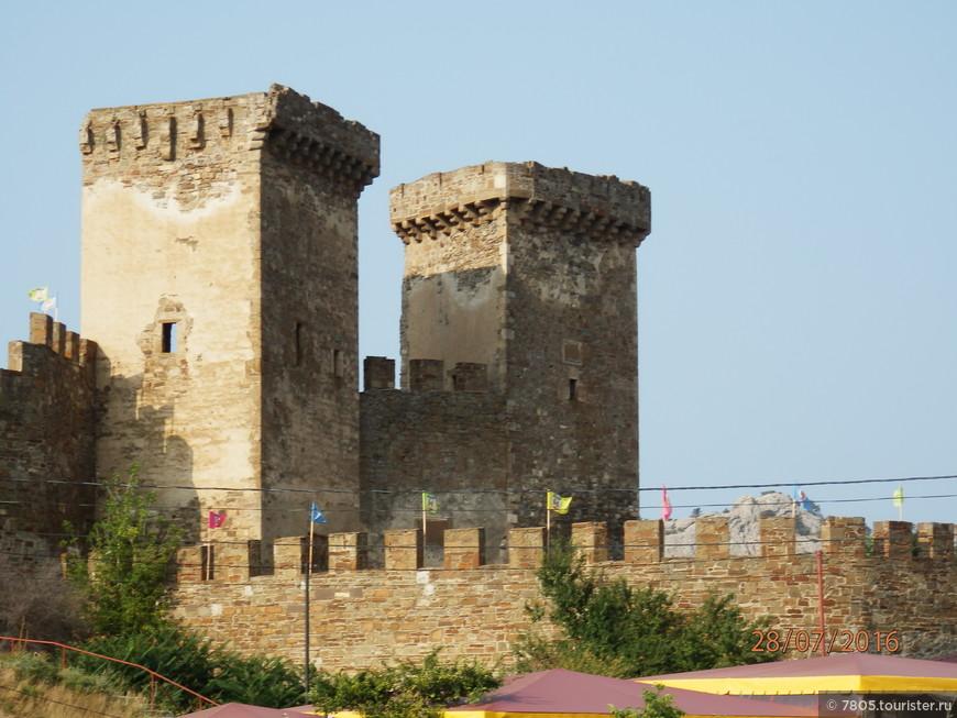 вход в Судакскую крепость