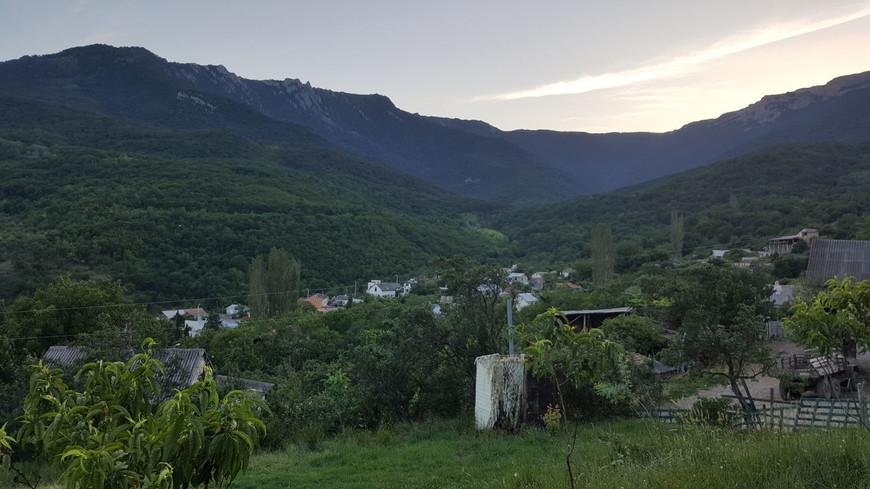 Генеральское - сказочное село, окруженное горами
