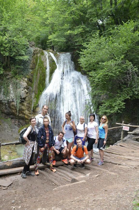 водопад Джур-Джур - самый полноводный в Крыму