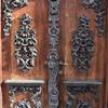 Изящная дверь имения Унгерна