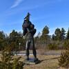 Памятник богатырю Лейгеру