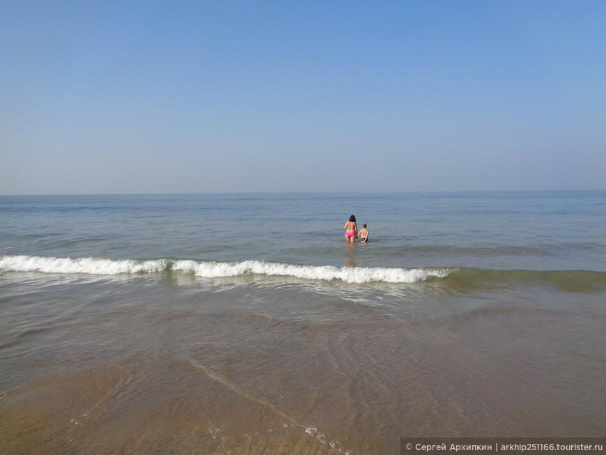 Индийский океан - теплый и чистый