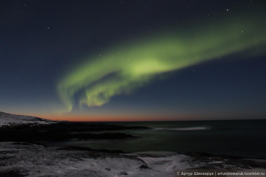 Aurora Borealis: магия заката