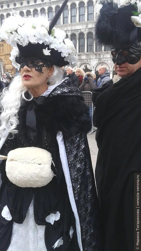 Карнавал в Венеции.