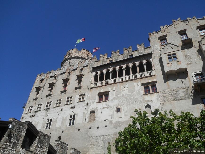 Castel Buonconsiglio находится  в прекрасном состоянии