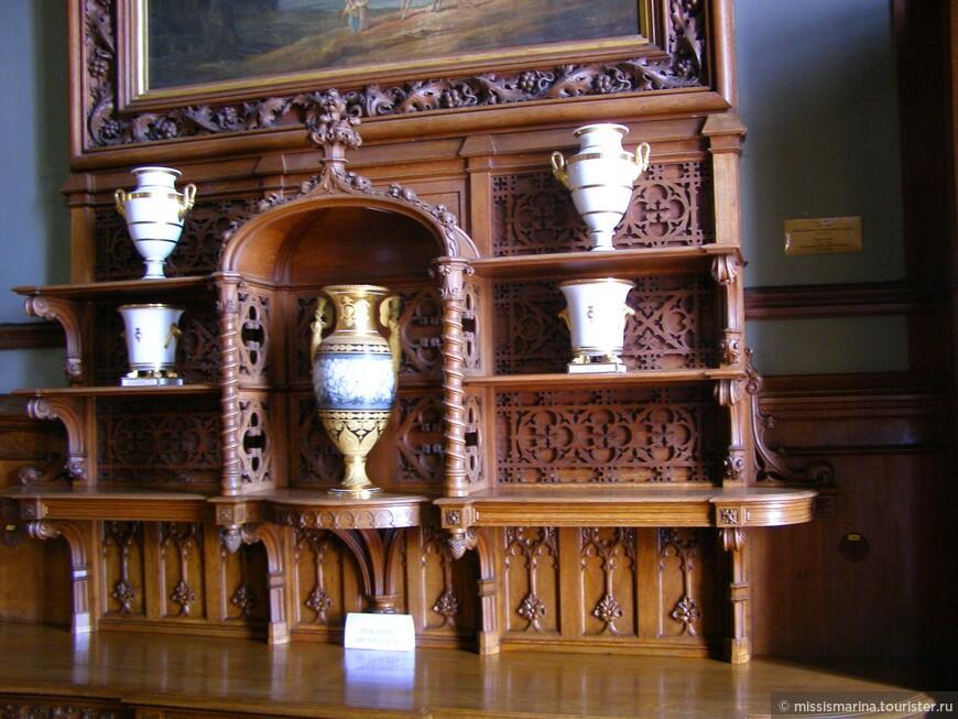 Каждая комната Воронцовского дворца имеет свой уникальный стиль и колорит