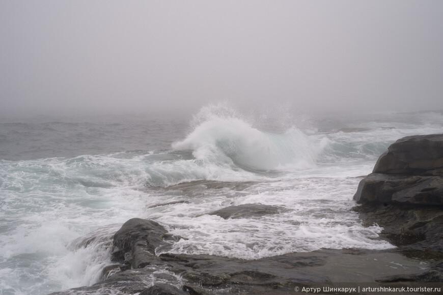 Грозные волны океана