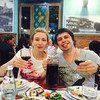 Саша и Оля. Ужин в грузинском ресторане