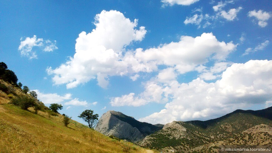 И облака здесь необыкновенные!